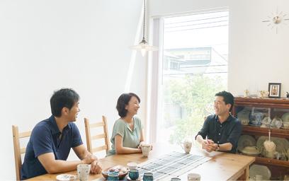 お客さまの声:神奈川県逗子市 O様「不安はどんどんなくなり、自分たちが描いた以上の家ができました。」